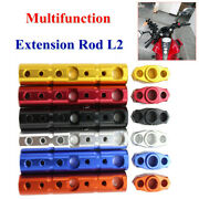 Motorcycle Modification Aluminum Alloy Multifunctional Extension Rod Lamp Holder