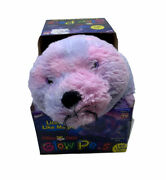 New Boxed Pillow Glow Pets Sparkling Led Shimmering Seal Lights Up 15