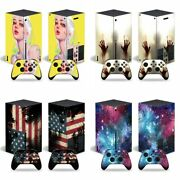 Vinyl Skin Sticker Wrap Games For Xbox Series X 2 Remote Controllers And Console