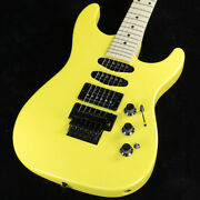Fender / Made In Japan Limited Edition Hm Strat Frozen Yellow Electric Guitar