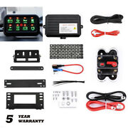8-gang Switch Panel Relay Circuit Control System Car Led Light Bar Switch Panel