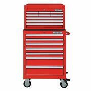 Westward 7cx86 26w Tool Chest And Cabinet Combination 16 Drawers 49-3/4h