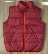 Back To The Future Official Vest Mens Xl Universal Studios Marty Mcfly Puffer