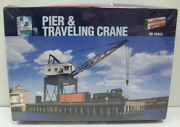 Walthers 933-3067 Ho Pier And Traveling Crane Building Kit