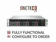 Hp Dl180 Gen9 8 Lff Server 2x E5-2623 V3 128gb Ddr4 Ram 4x 2tb Sata 3.5in Hdd