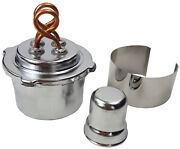 Dual-wick Alcohol Burner, Case Of 80