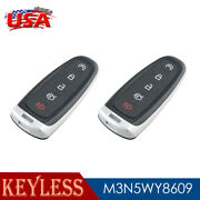 2 For 2011 2012 2013 2014 2015 2016 2017 Ford Explorer Smart Prox Remote Key Fob