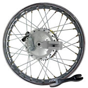 For Honda Crf100 Xr100 16 Complete Rear Rim Wheel Assembly Brakes And Sprocket