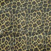 Cork Fabric Style 1015 - Leopard Print 3 Sizes Available For Crafts And Sewing