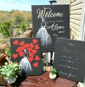 Wedding Personalized Signs.
