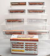 Fox Valley Models 40001 Milwaukee Hiawatha N Gauge Steam Passenger Train Set Ln