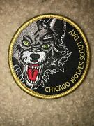Boy Scout Bsa Type 5 Chicago Wolves Illinois Ice Hockey Council Sport Patch