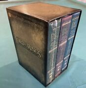 Lord Of The Rings Motion Picture Trilogy Dvd, 2004, New 12-disc Set, Extended