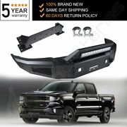 New For 2015 2016 2017 Chevy Silverado 2500 Front Steel Step Bumper Assembly