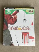 Home Alone - 4k Steelbook New Sealed Sold Out John Hughes Christmas Santa