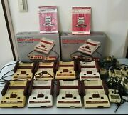 Lot 8 Japanese Nintendo Famicom Console Junk Parts For Repair 2 Box 8 Rf Switch