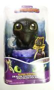 Dreamworks Dragons - Flying Toothless Interactive Dragon W Lights And Sounds - New