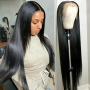 Straight Lace Frontal Human Hair Wigs Women Pre Plucked Brazilian Remy Hair Wig
