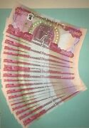 Buy 500000 New Iraqi Dinars With New Security Features - Iraq Dinar - Active