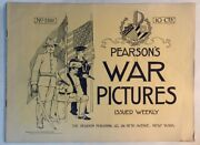 1898 Pearsonand039s War Pictures Collection Of 14 Issues Spanish American War