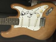 Rare Paul Simon Signed Electric Guitar In Display Case Jsa Authenticated Loa