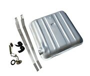 1957 Chevrolet Gas Tank Kit With 3/8 Sending Unit And Straps