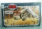 Star Wars - Republic Gunship - The Vintage Collection 2013 - A4646 Unused Toy