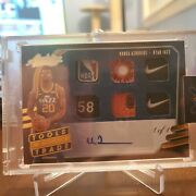 2020-21 Absolute Udoka Azubuike 6 Swatch Tools Of The Trade Auto Relic 1 Of 1🔥