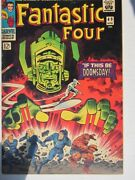 Fantastic Four Marvel 49 Apr 1966 1st Galactus Silver Surfer Doomsday Issue F