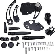 Hawg Forward Control Kit With Shadow Levers And Adjustable Pegs Black Fckf14asfrse