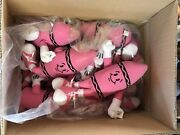 Plush Toy Lot Wholesale, Great Gifts, Game Room Prizes, Claw Machines Pink