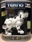 Tekno Robotic Puppy Special Dalmatian Edition Never Opened
