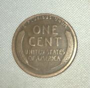 1925 S Lincoln Wheat Penny - Circulated - Wheat Lines Present