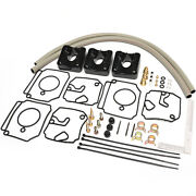 Replace Yamaha 6h4-w0093-03-00 Carb Repair Kit For 40-50hp 2-stroke Outboard