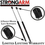 Qty 2 Strong Arm 4550 Front Hood Lift Supports