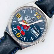 Seiko Mickey Mouse Menand039s Watches Mechanical Self-winding Antique Vintage