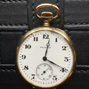 Waltham Gold Innocent Pocket Watch Approximately 100 Previous