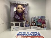 Disney Frozen 2 Elsa Musical Doll Sings 14 Phrases And Fire Spiritandrsquos Snowy Snack
