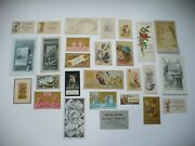 Group Of 1870's To 1880's Victorian Clothing Shoes Advertising Trade Cards