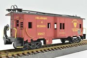 Delaware And Hudson Bay Window Caboose 35817 Custom Painted Athearn 1285 New