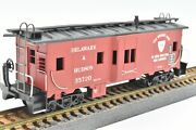 Delaware And Hudson Bay Window Caboose 35720 Custom Painted Athearn 1285 New