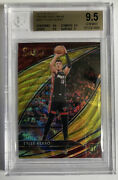 2019-20 Select Courtside Gold Wave Tyler Herro Rookie Rc Bgs 9.5 Gem Mint