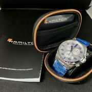Hamilton Khaki Aviation Limited Discontinued Model New Stainless Steel 50andtimes44andtimes1