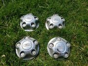 Set Of Ford Hub Caps For A Ford Explorer Amazing Condition Chrome Style