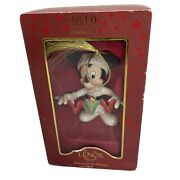 Collectible Lenox Christmas Annual 2010 Mickeyand039s Tree Trimming Ornament U