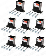 8 Pack Simpson Strong Tie Fpbb44 E-z Base 4x4 Post Base Heavy Duty