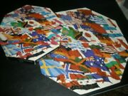 Flags Of The World Springbok Jigsaw Okta Octagon Puzzle Complete