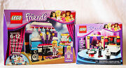 New Lot Of Two Lego Friends - Rehearsal Stage 41004 And Mia's Magic Tricks 41001