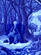 Rowland And Marsellus Flow Blue George Washington's Prayer At Valley Forge