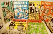 Huge Lot Baseball Photo Albums 1960-63 And All Old Timers, Spahn And Musial Mays